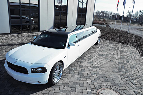 Dodge Charger mieten Heidelberg Event Limo